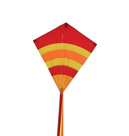 In The Breeze HOT ARCH DIAMOND KITE 23""