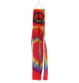 In The Breeze PEACE SIGN MINI WINDSOCK 15""