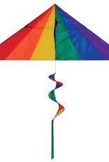 In The Breeze RAINBOW DELTA COMBO KITE