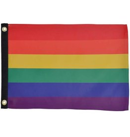 In The Breeze RAINBOW FLAG 12''X18''