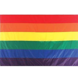 In The Breeze RAINBOW FLAG 5'X8'