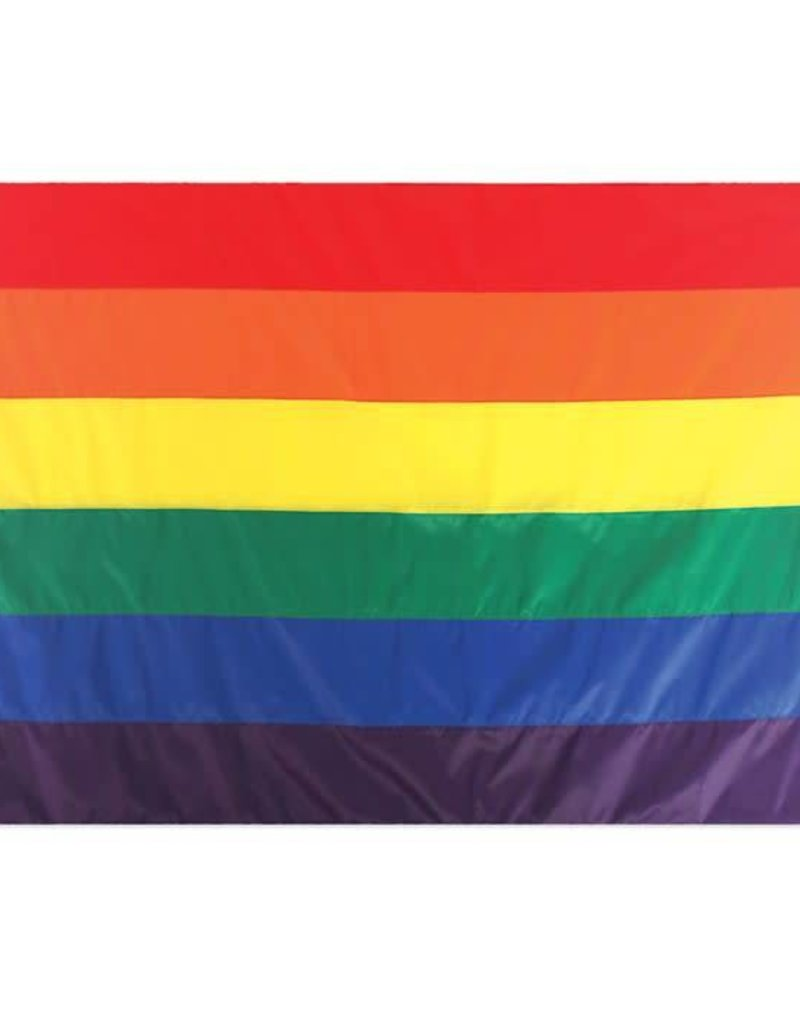 In The Breeze RAINBOW FLAG 5'X8'