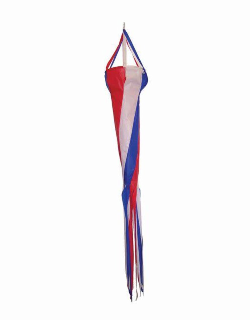 """In The Breeze RED, WHITE, & BLUE SPINSOCK 48"""""""