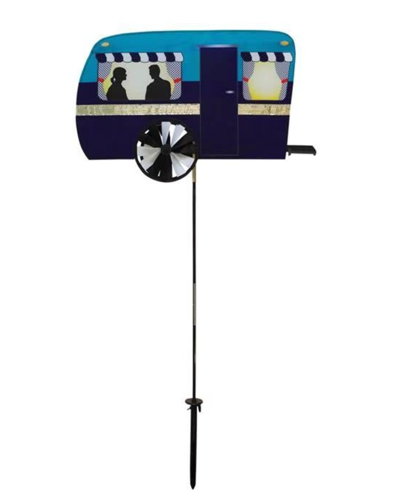 """In The Breeze RETRO TRAILER SPINNER 24"""""""