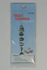 In The Breeze SHIMMER HELIX METAL TWISTER - SALMON