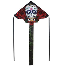 In The Breeze SUGAR SKULL FLY-HI KITE 45""