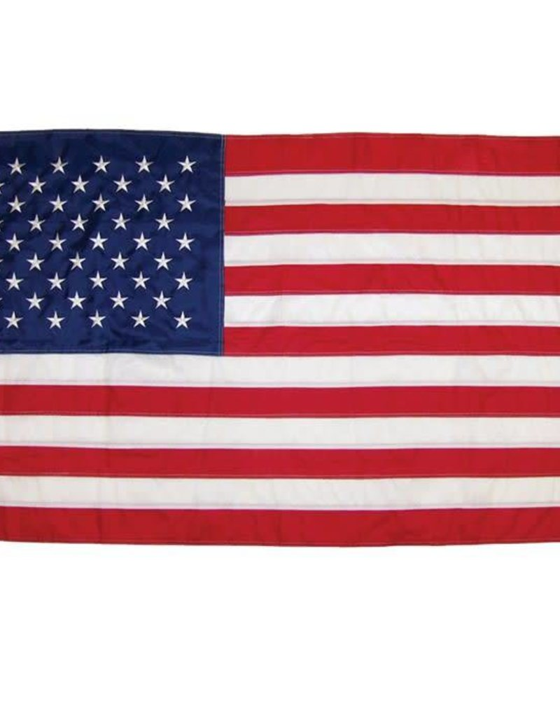 In The Breeze USA EMBROIDERED FLAG 3'X5'