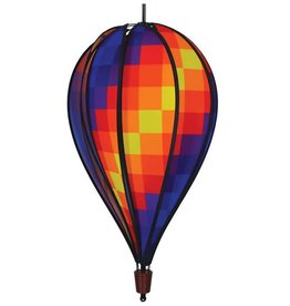 In The Breeze RAINBOW PIXEL HOT AIR BALLOON 25""