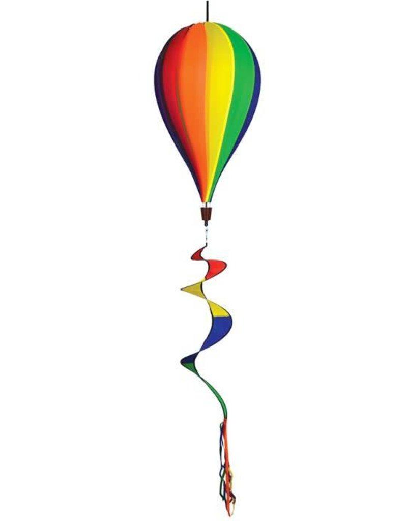 "In The Breeze RAINBOW HOT AIR BALLOON 17"""