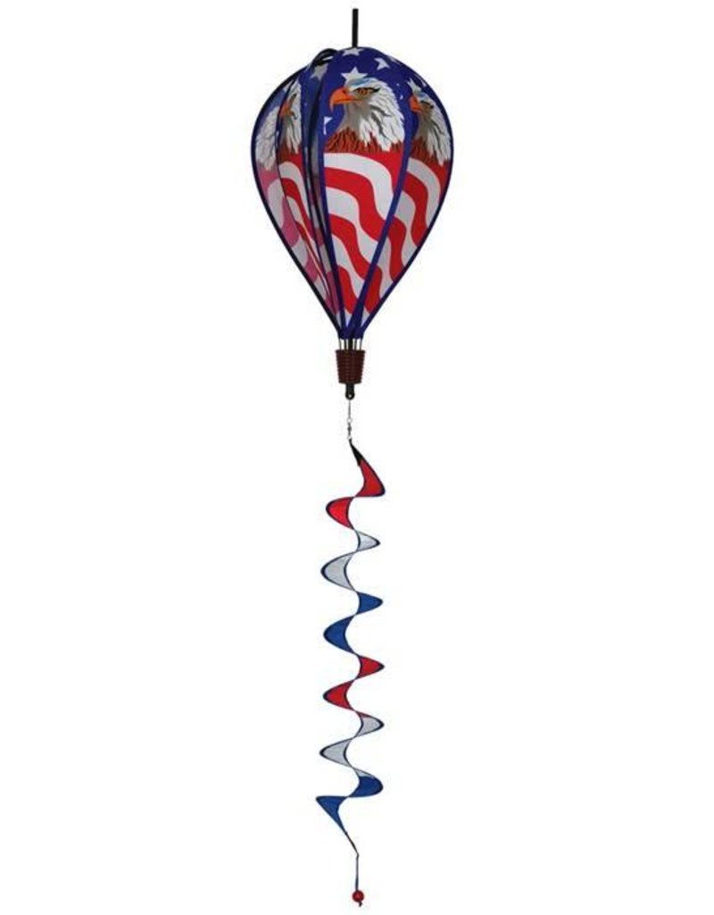 """In The Breeze PATRIOTIC EAGLE HOT AIR BALLOON 17"""""""