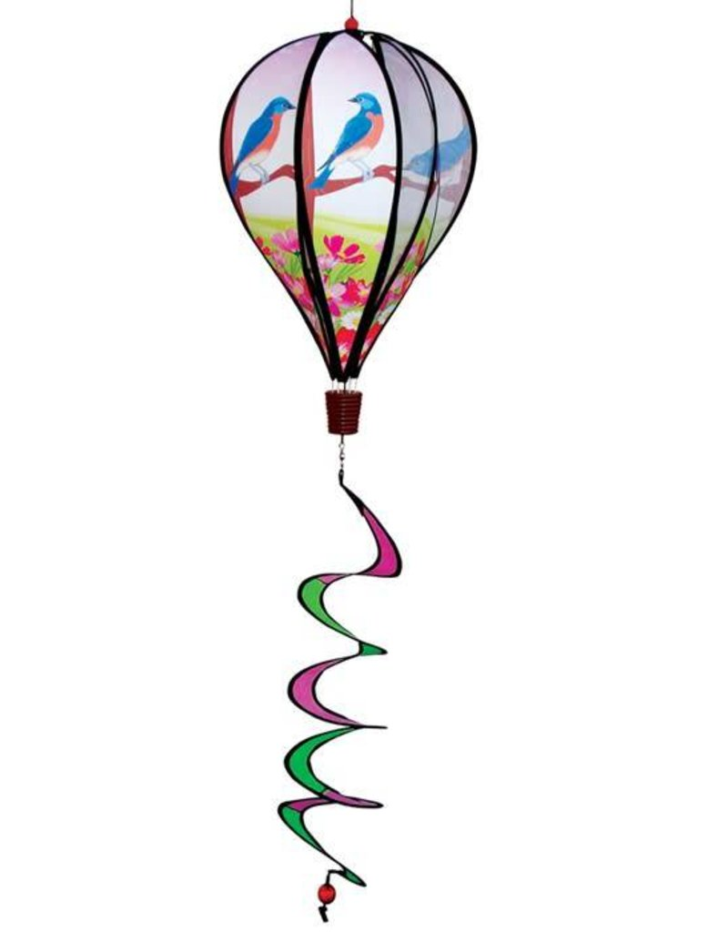 In The Breeze BLUEBIRD HOT AIR BALLOON 17""