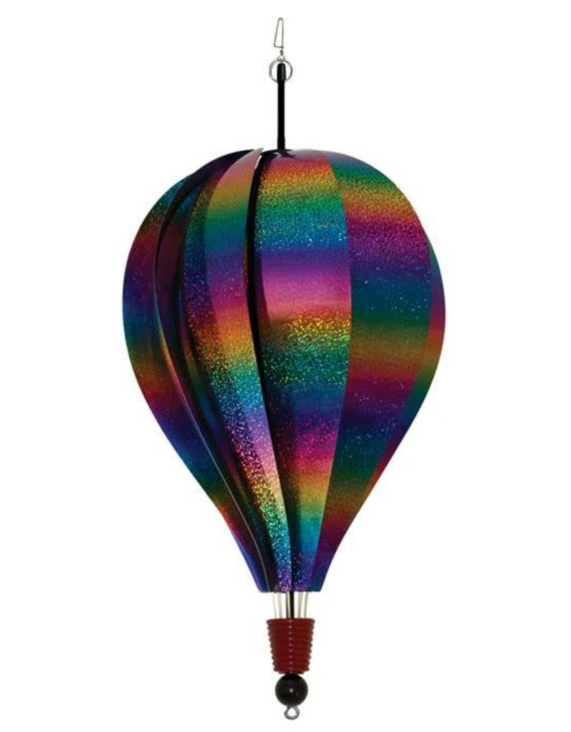 In The Breeze RAINBOW WHIRL HOT AIR BALLOON 18""