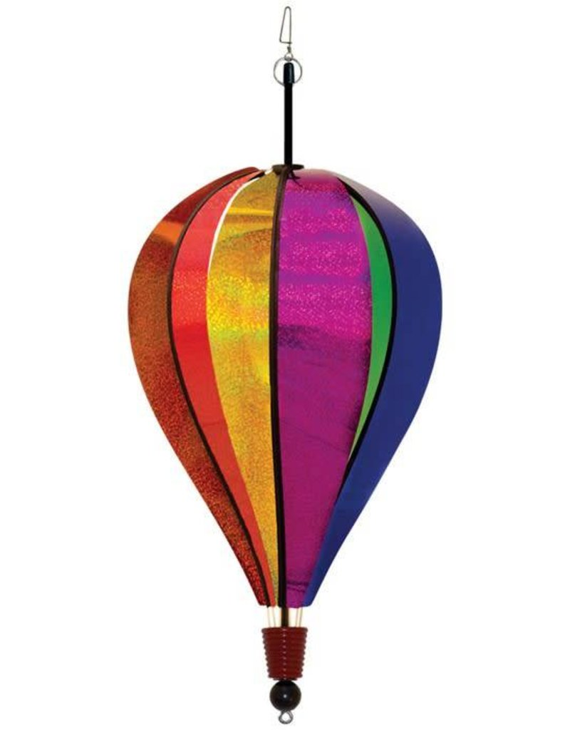 In The Breeze RAINBOW GLITTER HOT AIR BALLOON 18""