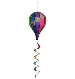 In The Breeze RAINBOW SPARKLE HOT AIR BALLOON 17""