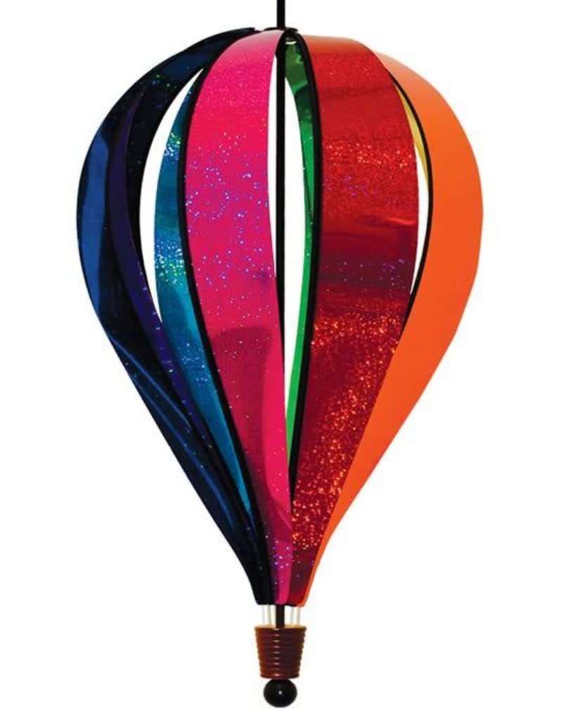 In The Breeze RAINBOW GLITTER HOT AIR BALLOON 24""