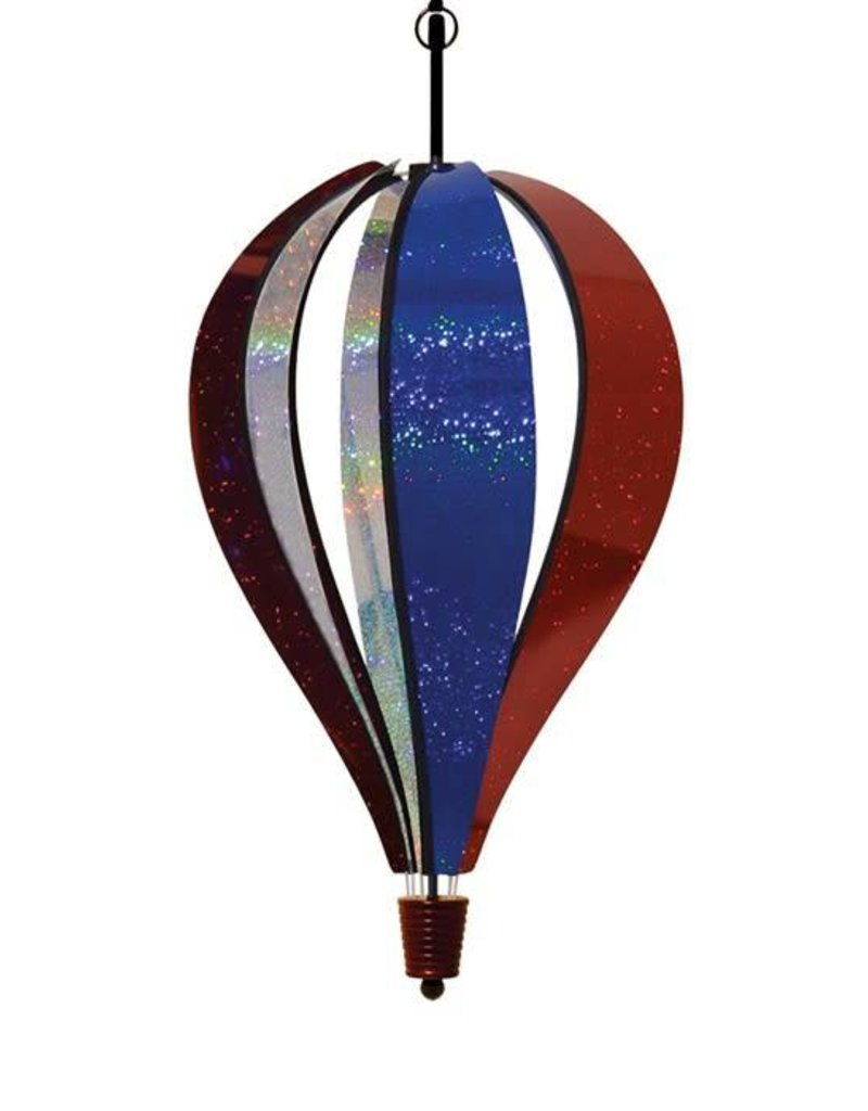"""In The Breeze PATRIOTIC SPARKLER HOT AIR BALLOON 24"""""""