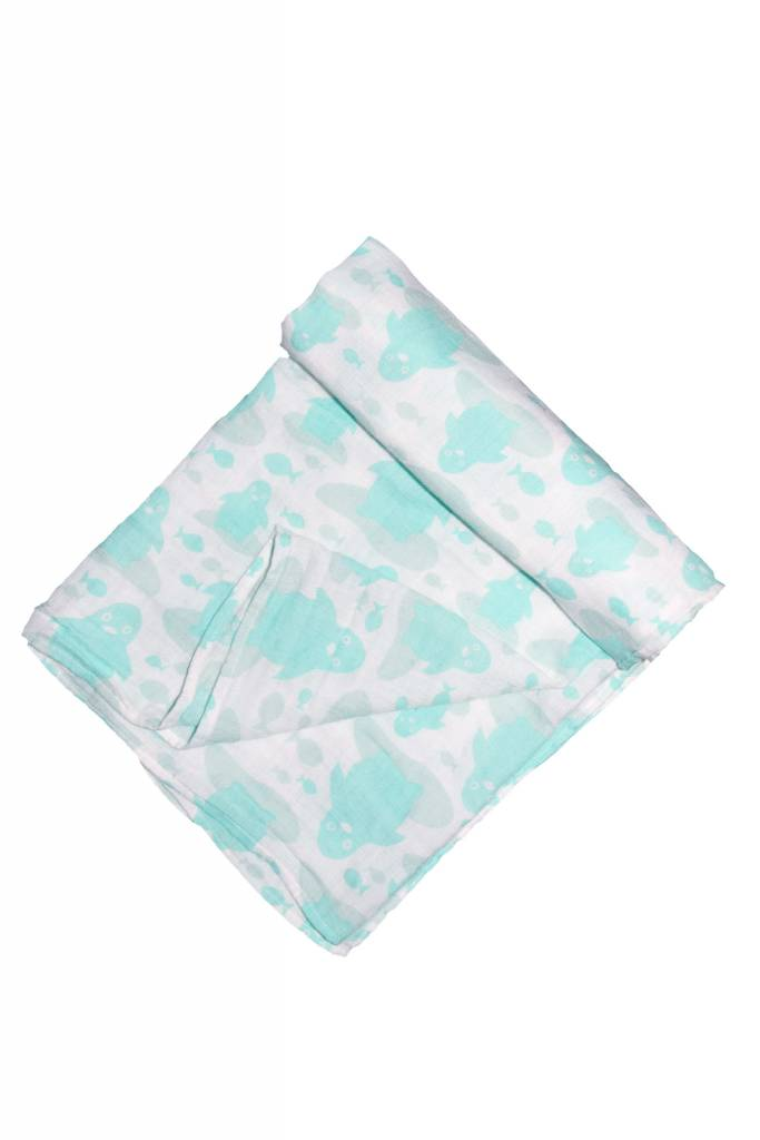Organic Cotton Muslin Swaddle Blankets