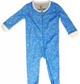 Organic Cotton Zipper Coverall