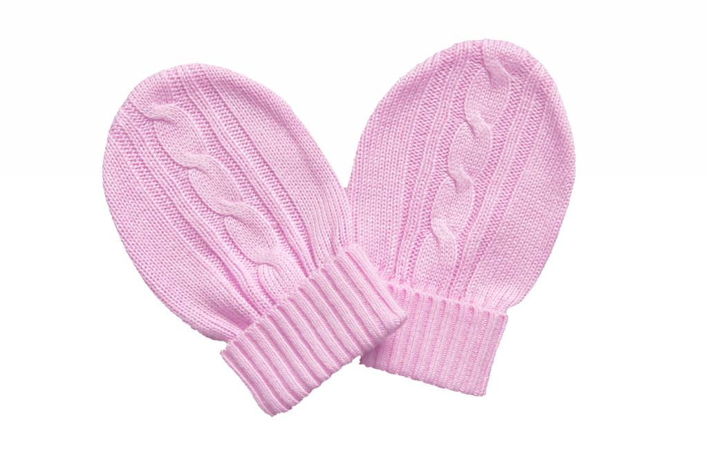 Knit Bamboo Classic Mittens