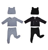 Organic Cotton French Terry 3 Piece New Born Gift Set