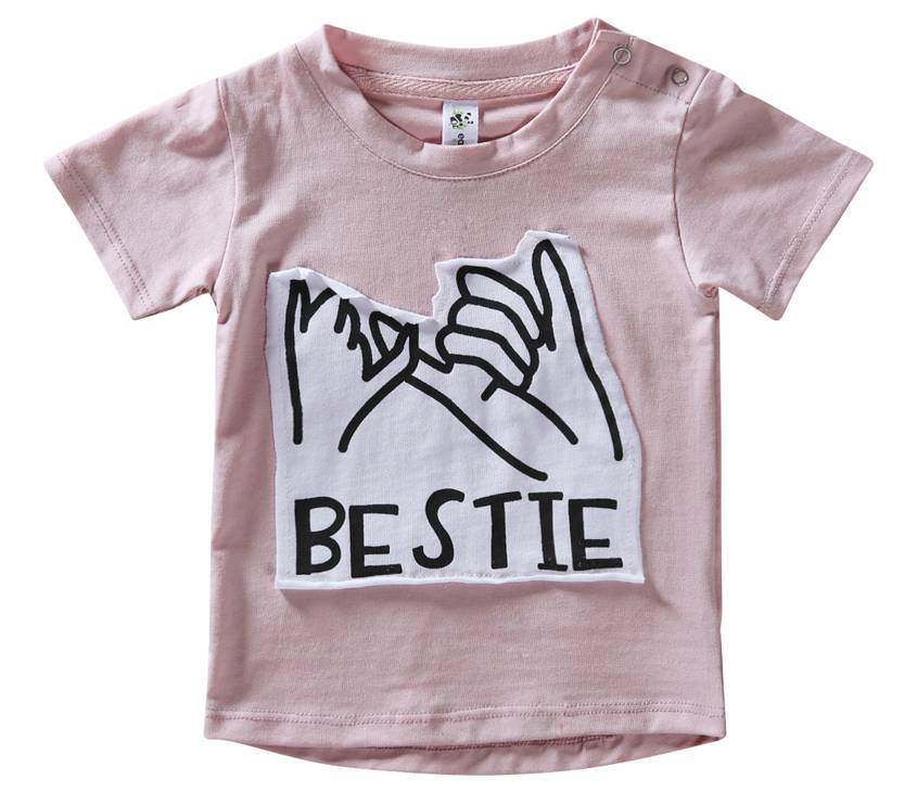 Organic Cotton BESTIE Short Sleeve Tee