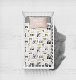 Bamboo Jersey Fitted Crib Sheet