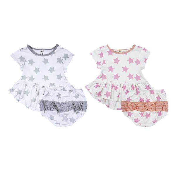Ruffle Dress and Bloomers Set