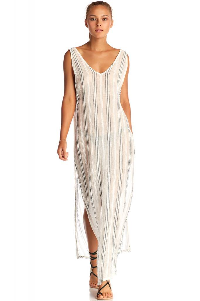 Tradewinds Beach Dress - Ren stripe Vitamin A i6hNn2a9x