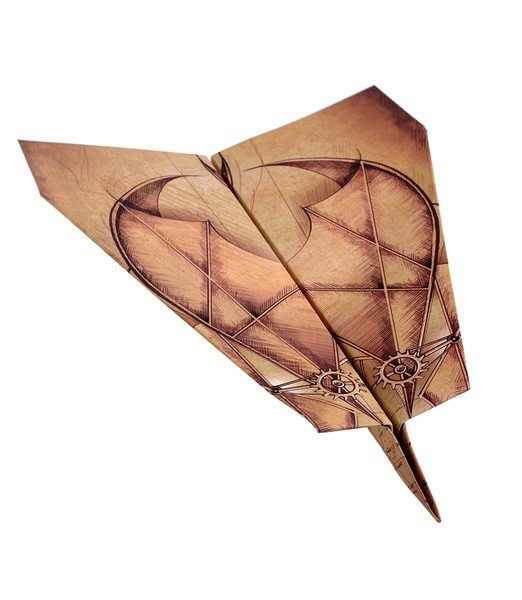 Aircraft PowerUp Paper Airplane Templates
