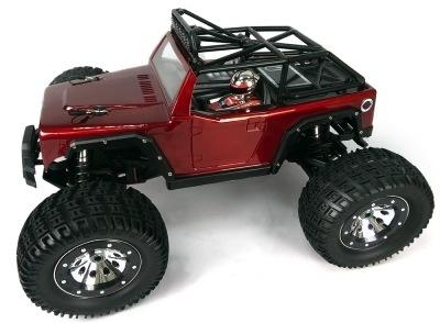 Cars Elect RTR Thunder Tiger Kaiser eMTA Monster Truck