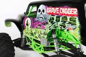 Cars Elect RTR AXIAL 1/10 Grave Digger Monster Jam 4wd RTR