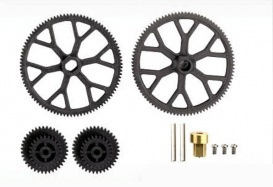 Heli Elect Parts Volitation Main Gear Set, A(11)x2 Pinion (12)x2 9053