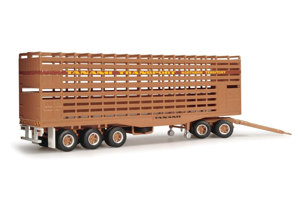 Diecast HIGHWAY REPLICAS Diecast Livestock Road Train