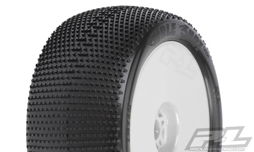 "Wheels Proline Hole Shot VTR 4.0"" X3 Tyre (Soft) Off-Road 1:8 Truggy Tires (2)"