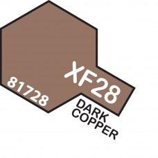 Paint Tamiya Color Mini Acrylic Paint  XF-28 Flat Dark Copper