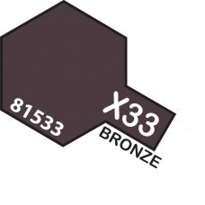 Paint Tamiya Color Mini Acrilic Paint X-33 Bronze.