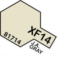 Paint Tamiya Color Mini Acrylic Paint XF-14 J. A. Gray (Flat)