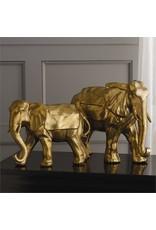 "Golden 17"" Lucky Elephant"