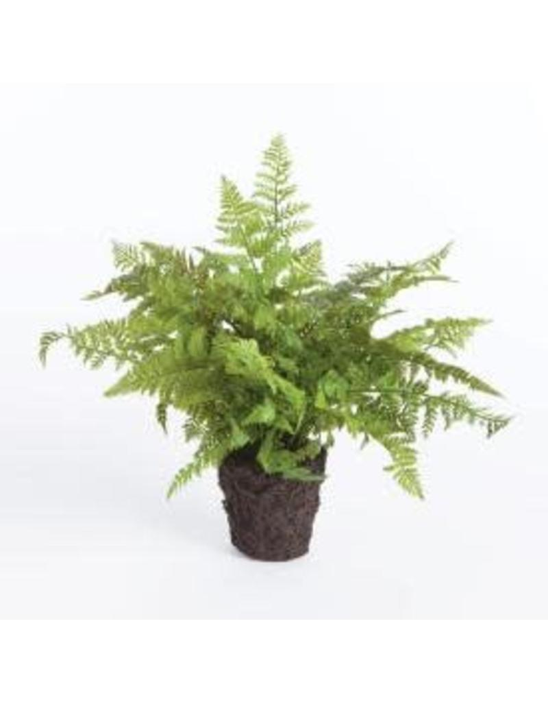 "Soft Fern 10.5"" Faux"