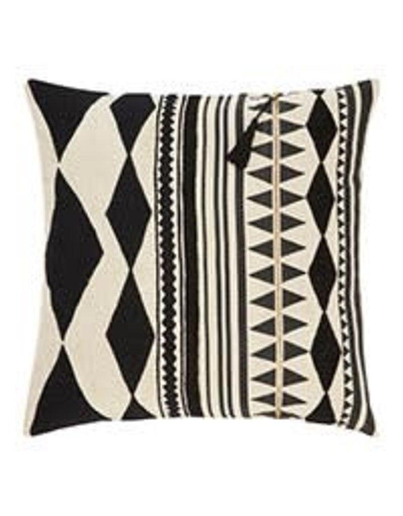 "Black Cosmic 22"" Pillow"