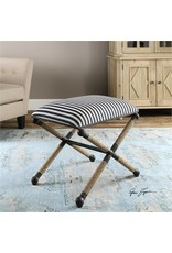 Braddock Striped Bench