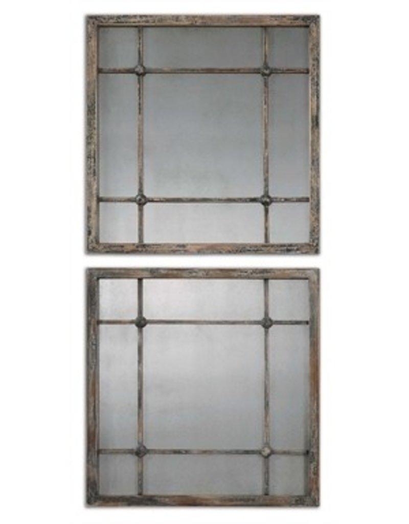 Saragano Square Mirrors Set/2