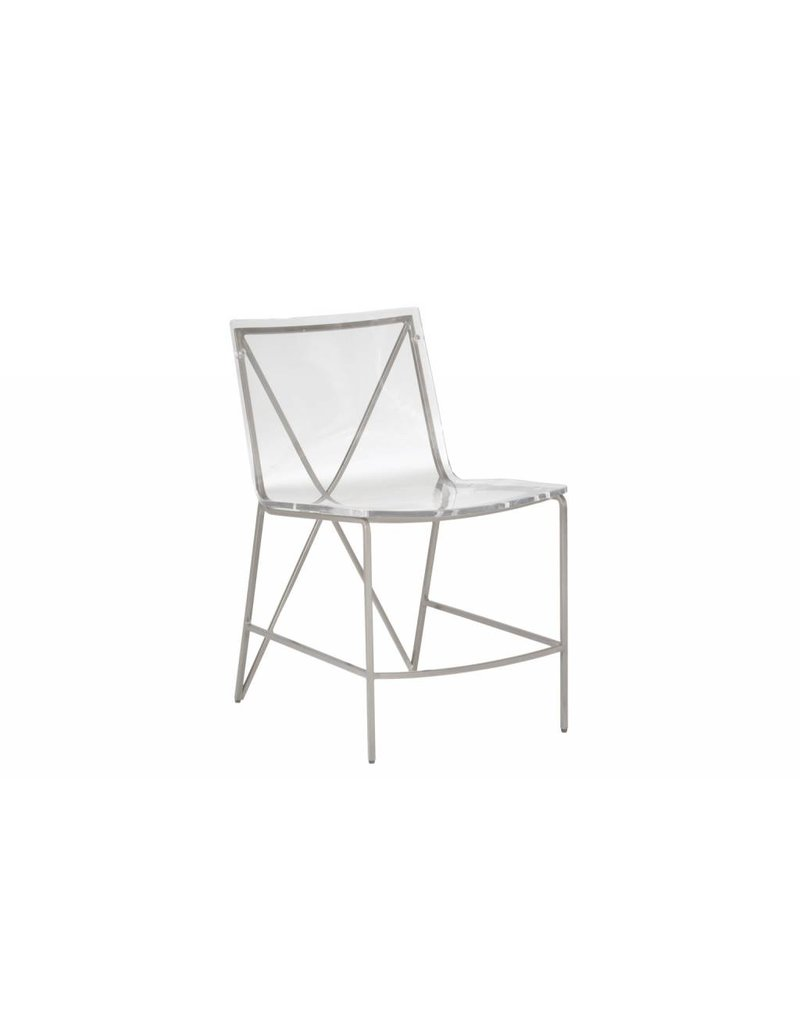 Johnson Dining Chair - Silver
