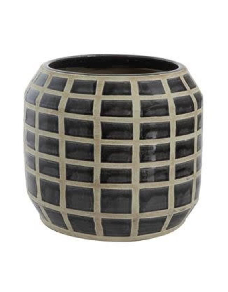Glazed Terra Cotta Pot
