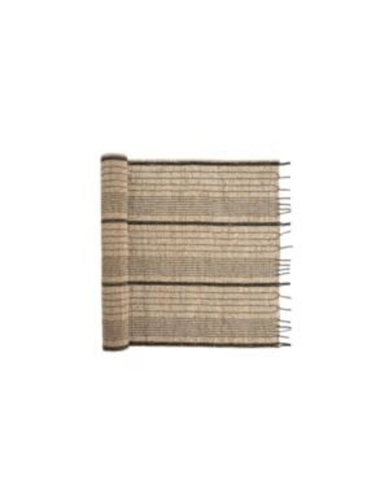 Seagrass Table Runner - Charcoal