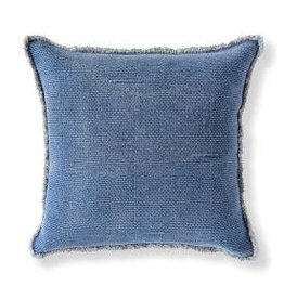 Woven Fringed Pillow
