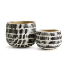 Uma Hand Painted Pot - small