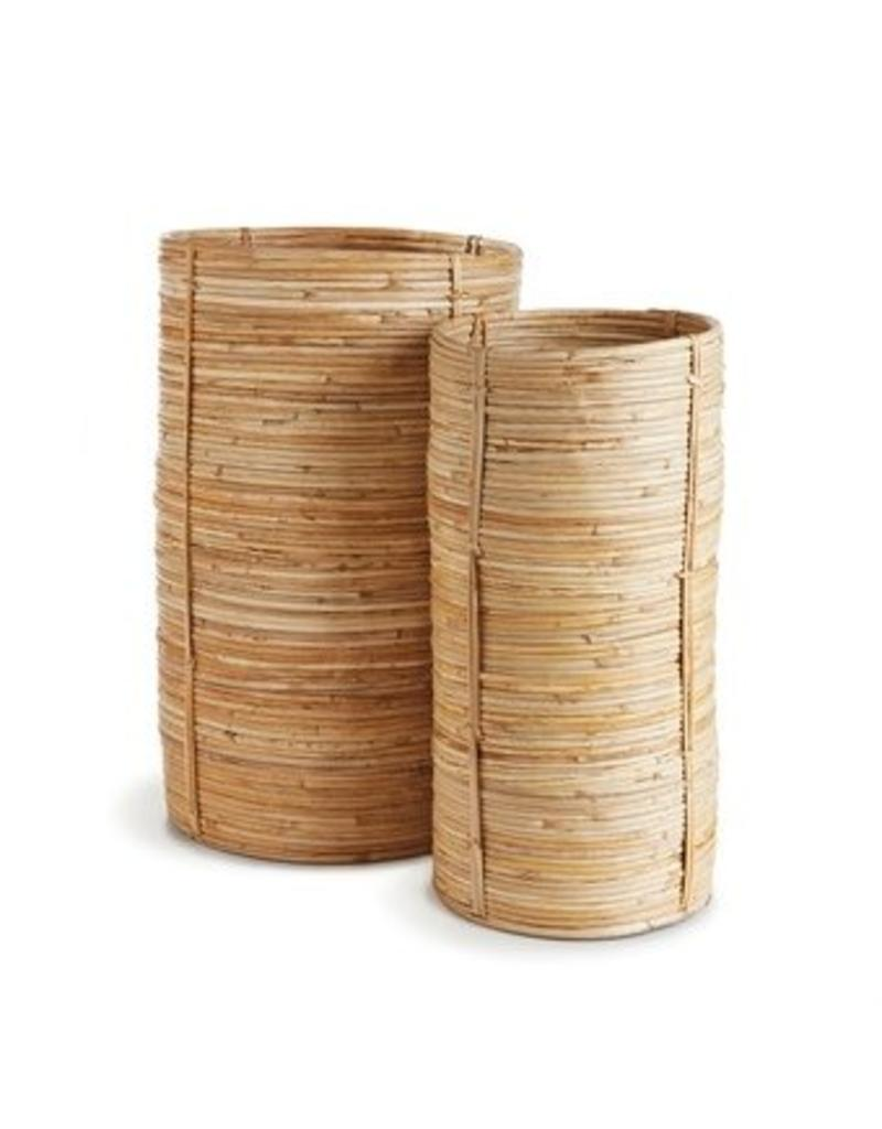 Cane Rattan Cylinder - small
