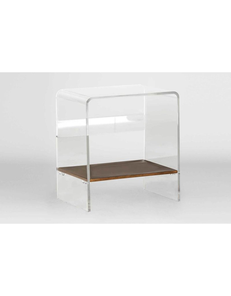 Sloan Lucite Waterfall Table