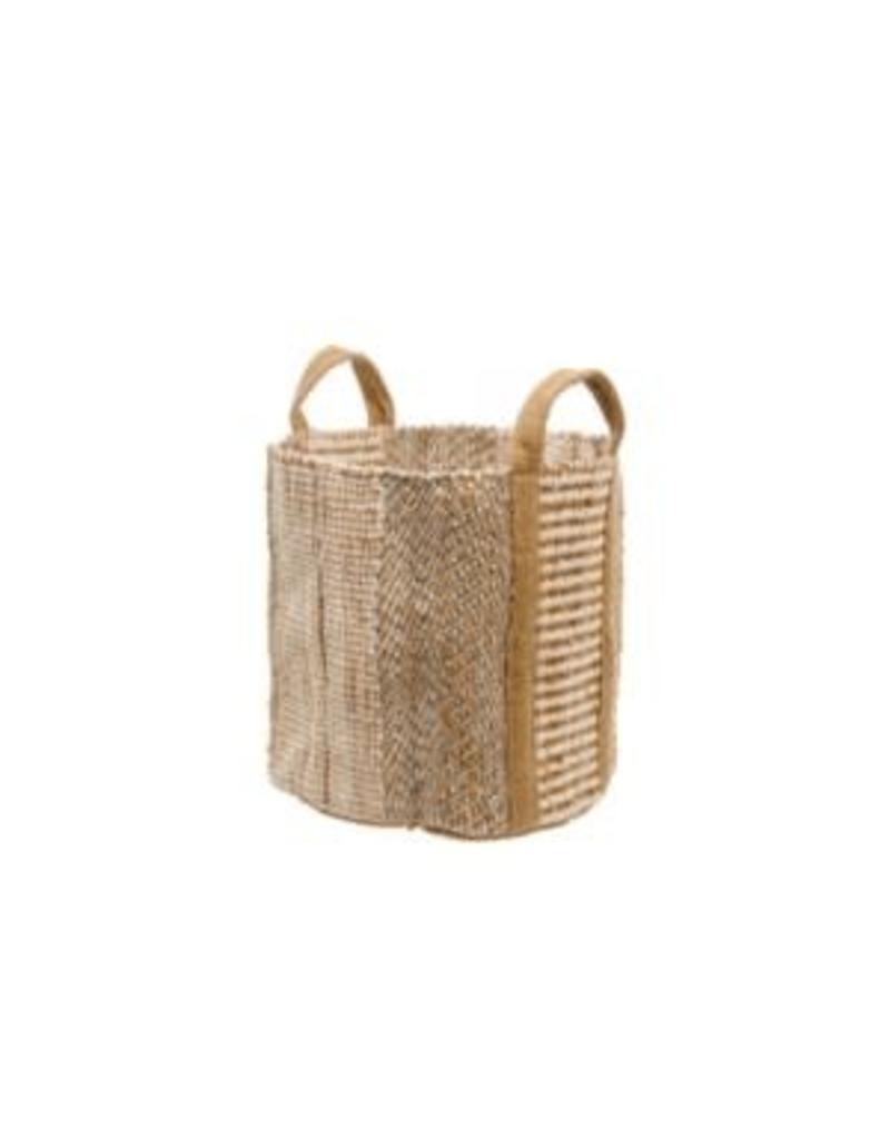 Shimmer Jute Storage Basket
